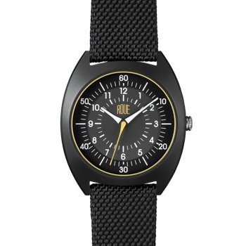 ROUE HDS TWO BLACK CASE BLACK AND GRAPHITE DIAL