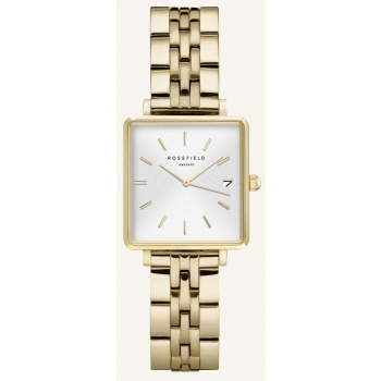 ROSEFIELD THE BOXY XS WHITE GOLD 22MM