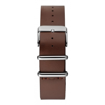 CHPO Brown Leather Nato Strap