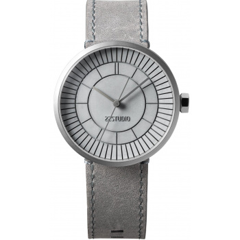 22 DESIGN STUDIO Concrete Sector Watch 40mm Concrete Grey Edition