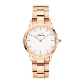 DANIEL WELLINGTON ICONIC LINK 32 mm Rose Gold White - DW00100211
